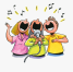 17-171989_it-is-happening-sing-karaoke-cartoon