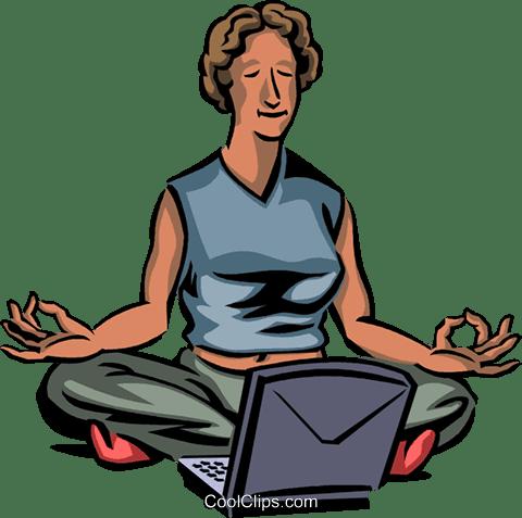 computer yoga