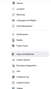 controling app facebook new